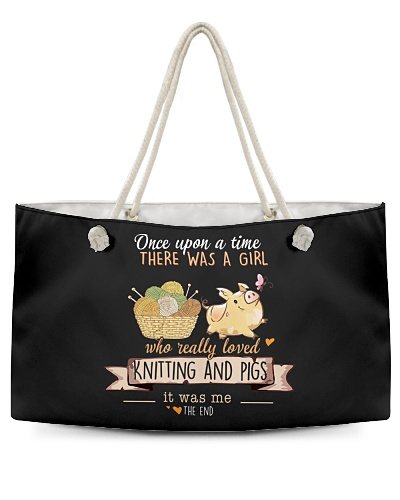 Knitting and Pigs Once upon a time there was a