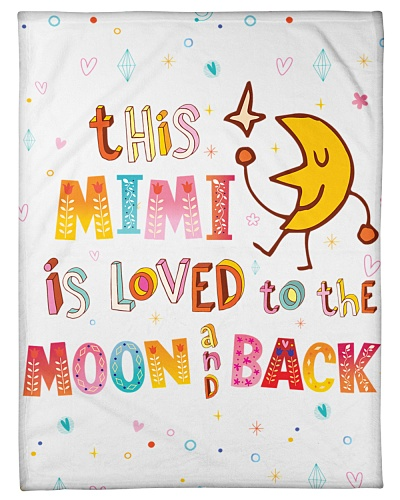 This mimi is loved to the moon and back