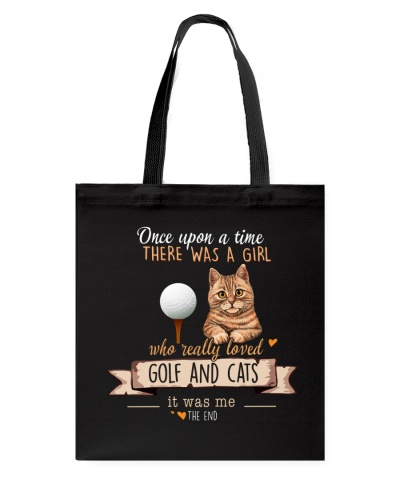 Golf and Cats Once upon a time there was a girl