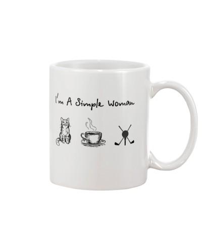 Cat - Coffee Tea - Golf