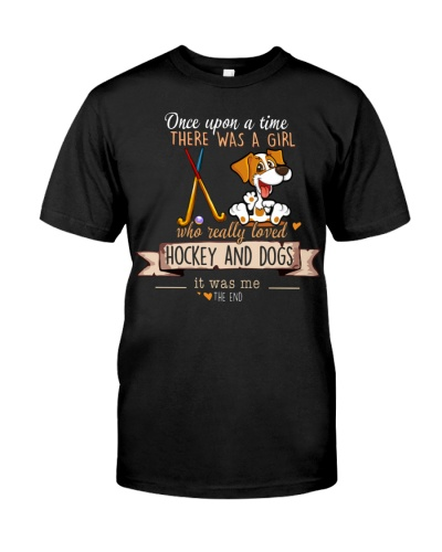 Hockey and Dogs Once upon a time there was a girl