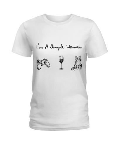 Game - Wine - Cat