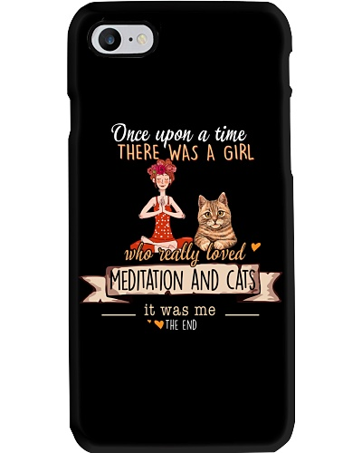 Meditation and Cats Once upon a time there  was a
