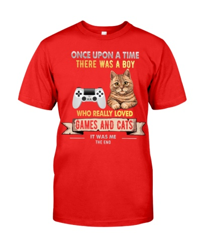 Games and Cats Once upon a time there was a boy