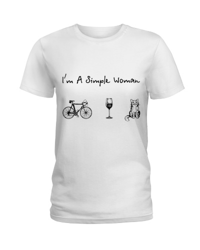 Bicycle - Wine - Cat
