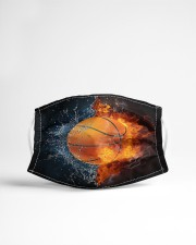 Basketball ball in Fire and Water Cloth Face Mask - 3 Pack aos-face-mask-lifestyle-22