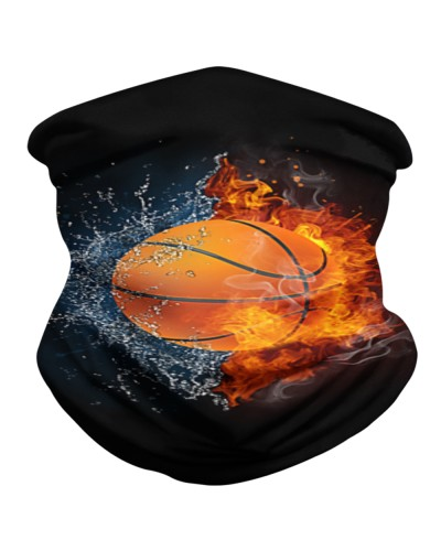 Basketball ball in Fire and Water