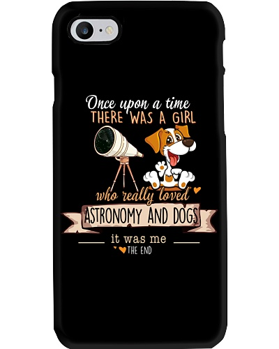 Astronomy and Dogs Once upon a time there was a