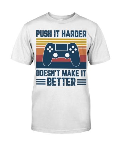 Push it harder doesn't make it better