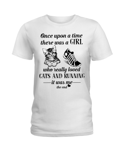 Cats and Running Once upon a time there was a girl
