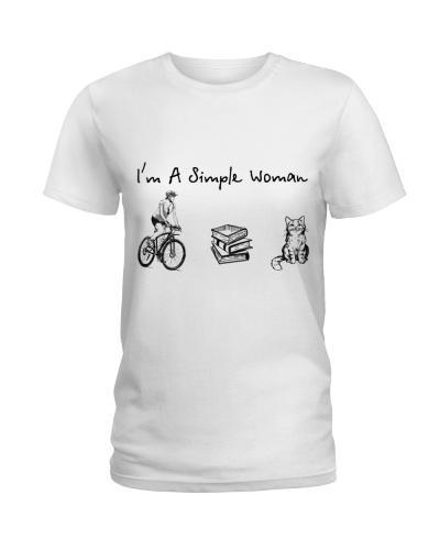 Bicycle - Book - Cat