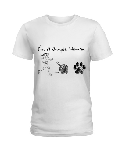 Running - Knitting - Dog paw
