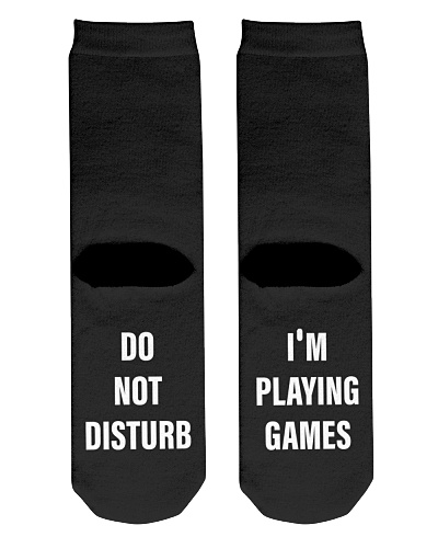 Do not disturb I'm playing games