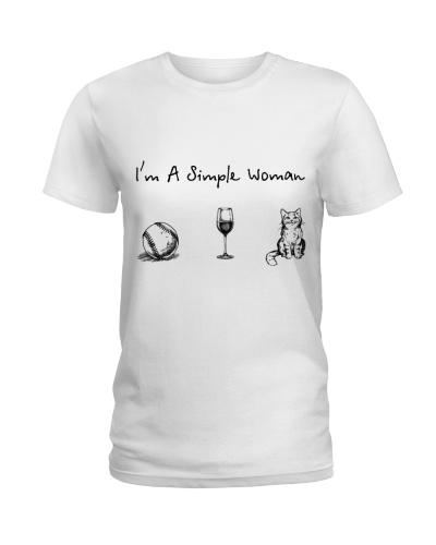 Baseball - Wine - Cat
