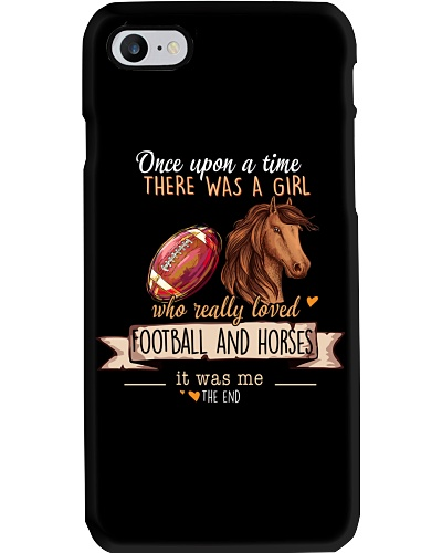 Football and Horses Once upon a time there was a