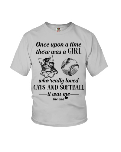 Cats and Softball Once upon a time there was a