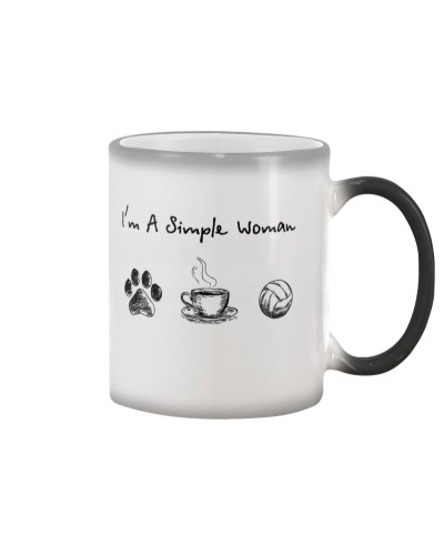 Dog paw - Coffee Tea - Volleyball