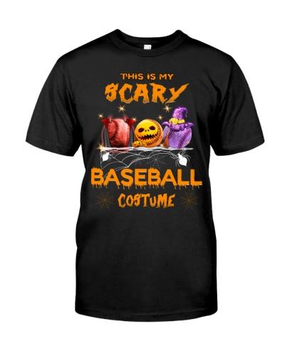 This is my scary baseball custume Halloween