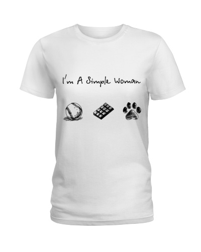 Baseball - Chocolate - Dog paw