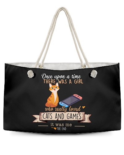 Cats and Games Once upon a time there  was a girl