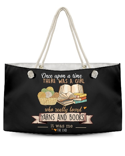 Yarns and Books Once upon a time there was a girl