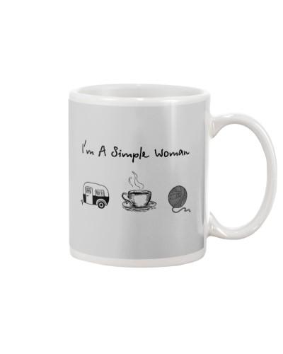 Camping - Coffee Tea - Yarn