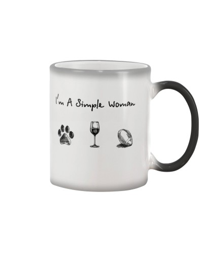 Dog paw - Wine - Football