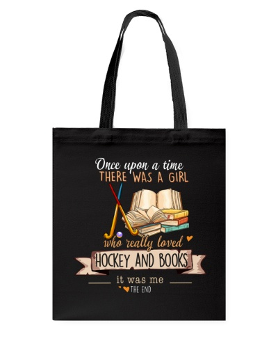 Hockey and Books Once upon a time there was a girl