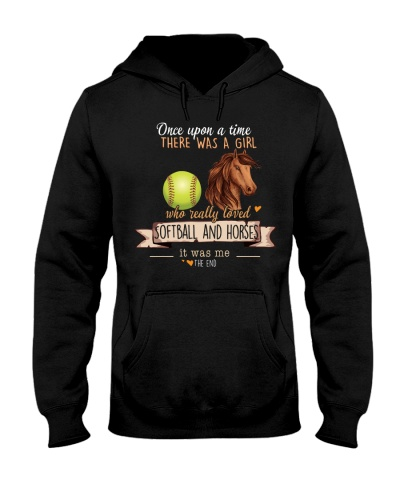 Softball and Horses Once upon a time there was a
