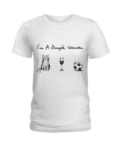 Cat - Wine - Soccer