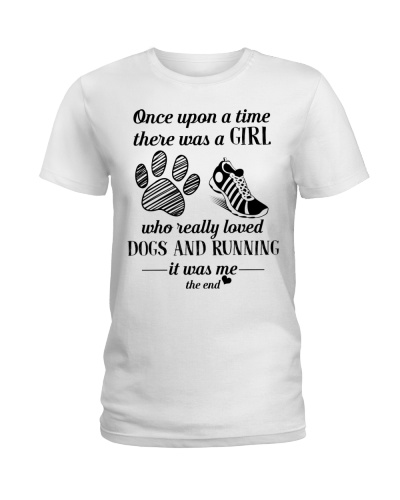 Dogs and Running Once upon a time there was a girl