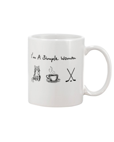Cat - Coffee Tea - Hockey