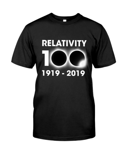 Relativity 100th 1919 - 2019