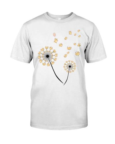 Pig - Dandelion flower