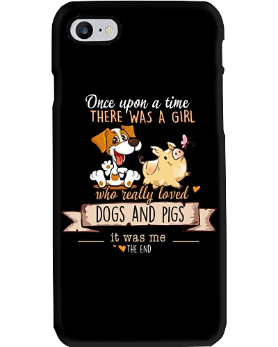Dogs and Pigs Once upon a time there  was a girl
