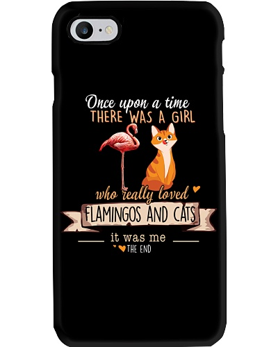Flamingos and Cats Once upon a time there  was a