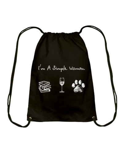 Book - Wine - Dog paw