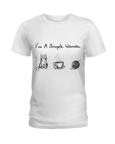 Cat - Coffee Tea - Crochet