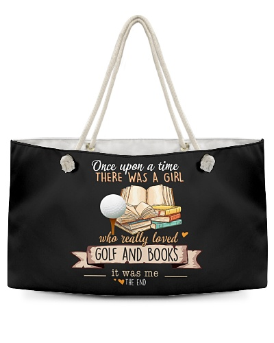 Golf and Books Once upon a time there was a girl