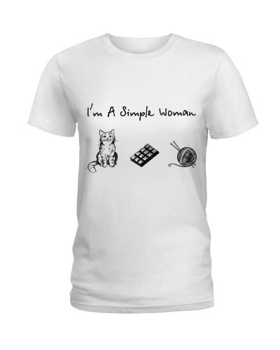 Cat - Chocolate - Knitting