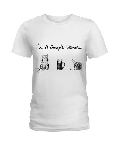 Cat - Beer - Knitting