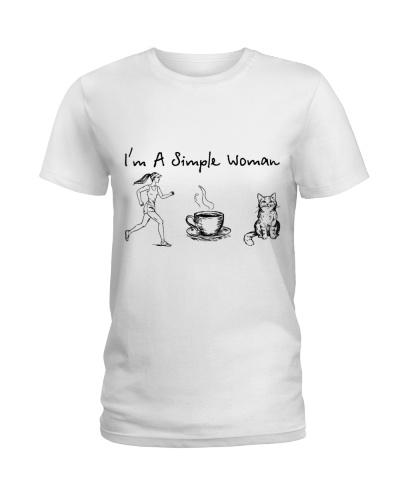 Running - Coffee Tea - Cat