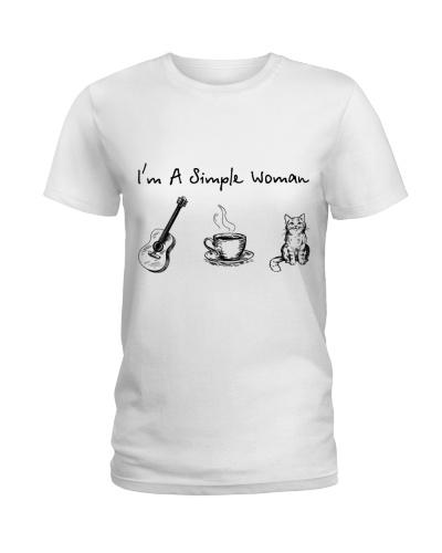 Guitar - Coffee Tea - Cat