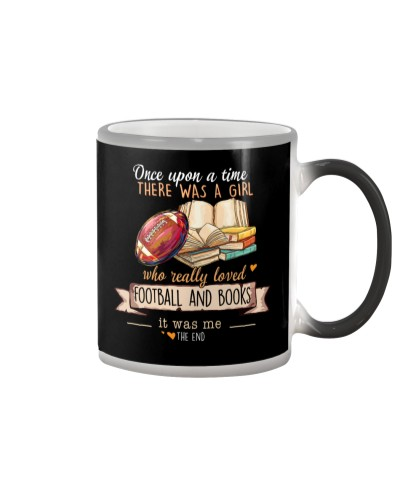 Football and Books Once upon a time there  was a