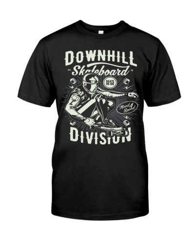 Downhill Skateboard Division T-shirt