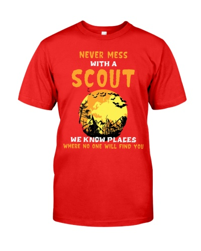 Limited Edition - Never Mess With A Scout