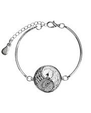 LIMITED EDITIONS Metallic Circle Bracelet thumbnail