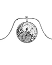 LIMITED EDITIONS Metallic Circle Necklace thumbnail