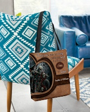 Motorcycle This Is Us A Liitle Bit Crazy All-over Tote aos-all-over-tote-lifestyle-front-01