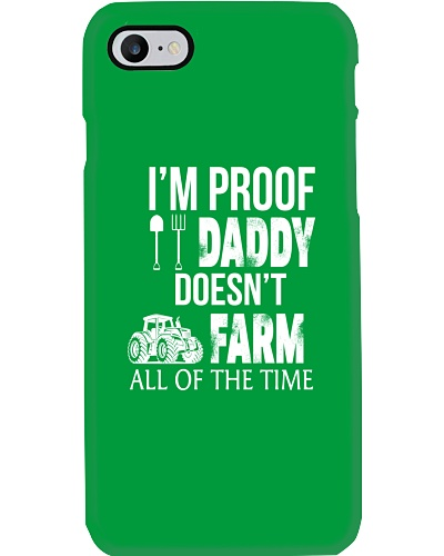 Daddy doesn't farm all time